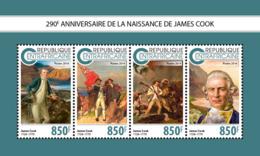 Central Africa  2018  James Cook Explorer   S201811 - Central African Republic