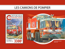 Central Africa  2018 Fire Engines  S201811 - Central African Republic