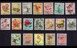 Ruanda 0177/95 (o) Fleurs - 1948-61: Oblitérés