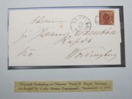 1859 , Brief Aus Naestved , Nr.Stempel 44 - Briefe U. Dokumente