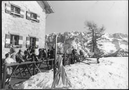 RIFUGIO AGOSTINI - PRADOLAGO - TIMBRO DEL RIFUGIO - VIAGGIATA 1959 DA MADONNA DI CAMPIGLIO - Alpinisme
