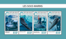 Central Africa  2018 Submarines  S201811 - Central African Republic