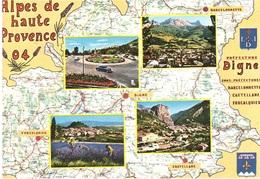 ALPES DE HAUTE PROVENCE - Carte Geografiche