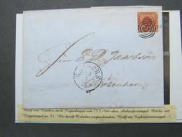 1860 , Brief Aus Randers , Nr.Stempel 53 - Briefe U. Dokumente