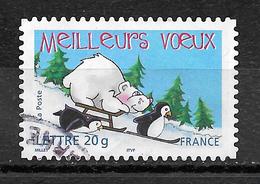 FRANCE 3857 Vœux Ours Blanc Manchot - France