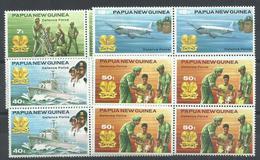 PAPUA NUEVA GUINEA YVERT  408/11  (B4)   MNH  ** - Papúa Nueva Guinea