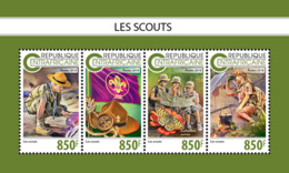 Central Africa  2018  Scouts  S201811 - Central African Republic