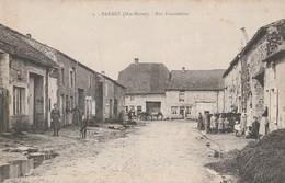 CPA 52  SARREY RUE FONCEMENE ANIMEE - Frankrijk