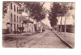 42 Le Coteau Avenue De La Gare Café Restaurant De La Brasserie Vins En Gros Ponthus Cpa Carte Animée Cachet 1907 - Autres Communes