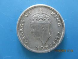 Maurice, Georges VI, 1/4 Rupee 1946, TB - Mauricio