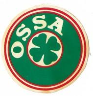 Autocollant - Moto - Motocyclettes - OSSA - Diamètre 6 Cm - - Stickers
