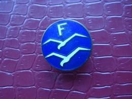 Boutonnière . Brevet F De Pilote De Vol à Voile ( Planeur ) . Matriculé - Airforce