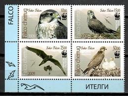 Kyrgyzstan 2009 / Birds WWF MNH Aves Vögel Oiseaux / Cu10416  40-23 - Vögel