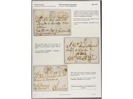HONDURAS. COMAYAGNA. Colección De 15 Cartas O Frontales. Destacando Tres Cartas Con Las Marcas VIVA F VII De COMAYAGUA ( - Unclassified