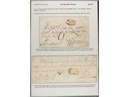 NICARAGUA. PERÍODO COLONIAL. Colección De 18 Cartas O Frontales. Muchas Marcas Raras Y Difíciles De Conseguir. La Mayorí - Briefmarken