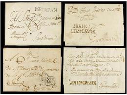 SALVADOR. PERÍODO COLONIAL. Conjunto De 24 Cartas O Frontales. Muchas Piezas Raras. Conjunto Muy Difícil De Reunir. (Ver - Stamps