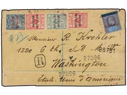 NUEVAS HEBRIDAS. 1909. PORT VILA To U.S.A. New South Walles Postal Agency Cancel Transferred To Condominium Postal Autho - Unclassified