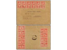 NUEVAS HEBRIDAS. Sg.36. 1924. PORT VILA To SYDNEY. Registered Envelope To AUSTRALIA Bearing New Hebrides, 1 D. Scarlet ( - Unclassified