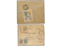 IRAN. 1911-21 Issue. Ninetten Registered Internal Covers, Diverse Frankings. (See Web). - Unclassified