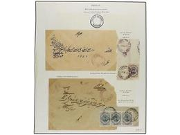 IRAN. 1916-17. Sixteen Covers With BRITISH/INDIAN Mark, PASSED CENSOR/BUSHIRE. - Unclassified