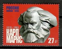 Russia 2018 Rusia / Karl Marx MNH / Cu10231  30-33 - Karl Marx