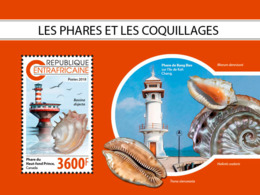 Central Africa  2018  Lighthouses And Shells  S201811 - Central African Republic