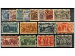 */(*) ESTADOS UNIDOS. Sc.230/45. 1893. SERIE COMPLETA, Buenos Centrajes En General, Algunos Valores Goma Removida. Buena - Stamps
