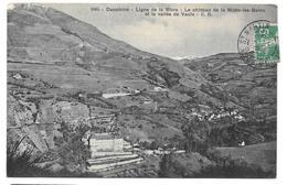 38 - Ligne De La Mure - Le Château De La Motte Les Bains Et La Vallée De Vaulx - Ed. E.R. N° 1065 - 1910 - Other Municipalities