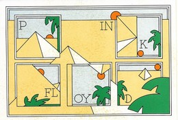 Autocollant - PINK FLOYD - Dimensions : 15 X 10 Cm - - Stickers