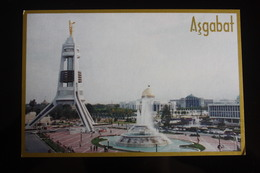 Turkmenistan. Ashgabat / Ashkhabad. Neutrality Square. Modern Postcard 2000s - Turkménistan