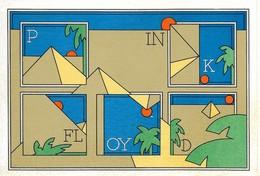 Autocollant - PINK FLOYD - Dimensions : 15 X 10 Cm - - Adesivi