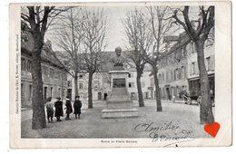 35142-ZE-25-Buste Et Place Dorian-------------CPA Non Située--MONTBELIARD ? - Montbéliard