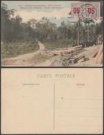 """Côte D'Ivoire - CP - Nº931 """" Afrique Occidentale - Côte D'Ivoire """" Mines D'or D'Ahinta- Route D'Aboisso """" (5G) DC1172 - Côte-d'Ivoire"""