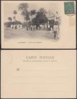 """Colonies Françaises - CP Guinée """" CONAKRY - Sortie De L'Eglise """"  (5G) DC1191 - French Guinea (1892-1944)"""