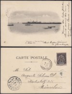 """Colonies Françaises - CP Guinée """" CONAKRY - Vue Du Warf """"  (5G) DC1196 - French Guinea (1892-1944)"""