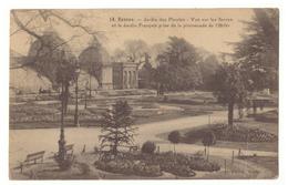 CPSM. Rennes. Jardin Des Plantes. Les Serres. Cachet. Timbre. Circulé. - Rennes