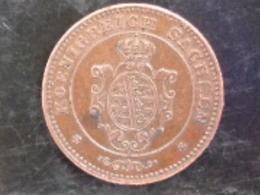 SPLENDIDE 1 PFENNIG SAXE 1868 B - Monedas Pequeñas & Otras Subdivisiones