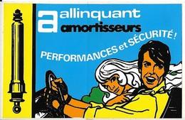 Autocollant - Automobiles - Amortisseurs - ALLINQUANT - 11 X 7 Cm - - Stickers