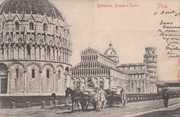 Pisa Battistero Duomo E Torre 1904 (LOT AE 25) - Pisa