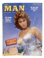Rivista Adulti Modern Man Adult Picture Magazine - February 1957 - Sophia Loren - Livres, BD, Revues