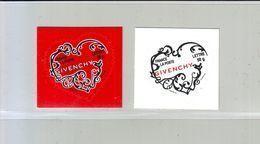 FRANCE 2007 - Autoadhésif  Y&T N° 102-103  - Saint-Valentin. Coeurs 2007 De La Maison De Couture Givenchy - Neuf ** - France