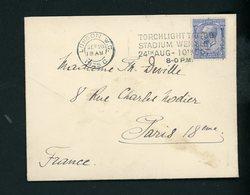 GRANDE BRETAGNE - N° Yt 163 Obl. SUR LETTRE DE LONDON WC DE 1925 - 1902-1951 (Kings)