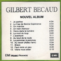 CD 13 TITRES (pochette Cartonnée) GILBERT BECAUD 2002 EMI MUSIC FRANCE TRèS RARE & BON ETAT - Other - French Music