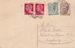 ITALIE  1930   ENTIER POSTAL/GANZSACHE/POSTAL STATIONERY  CARTE DE CANNOBIO - 1900-44 Victor Emmanuel III