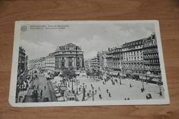 6756- BRUXELLES  BRUSSEL, PLACE DE BROUCKERE - Belgique