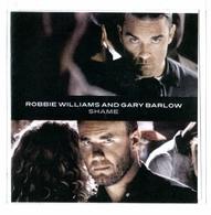 "CD 1 TITRE ROBBIE WILLIAMS & GARY BARLOW SHAME 3'58"" (pochette Plastique) TRèS RARE & BON ETAT - Rock"