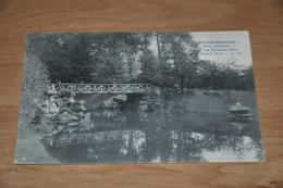 6757- BRUXELLES  BRUSSEL - SCHAERBEEK, PARC JASAPHAT  LE NOUVEAU PONT - 1907 - Belgique