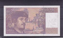 20 Francs Debussy 1993 Neuf +  2 Pièces : 10 Fr ( 1986 ) Et 2 Fr ( Guynemer 1997 ) - 1962-1997 ''Francs''
