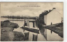 1 Cpa Saint Joachim - Un Coin De La Brière - Saint-Joachim