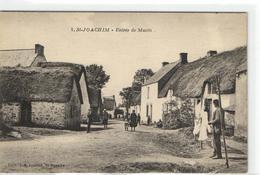 1 Cpa Saint Joachim - Entrée De Mazin - Saint-Joachim